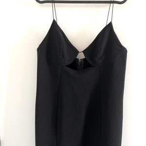 Bodycon topshop black dress never used